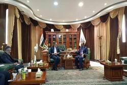 Iran's deputy FM meets with Najaf governor