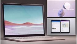 محصولات جدید مایکروسافت رونمایی شد/ لپ تاپ ۳ و نوت بوکی با ۲ نمایشگر