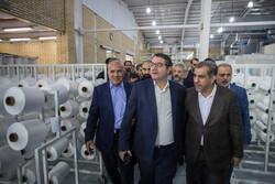 سفر وزیر صنعت، معدن و تجارت به قزوین