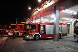 آتش سوزی یکی از موکب ها در مرز شلمچه مهار شد