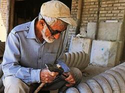 هنرمند حجار و سنگتراش برجسته شیرازی درگذشت