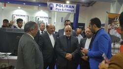سفیرایران در عراق از نمایشگاه بینالمللی اربیل بازدید کرد