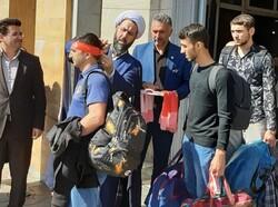 زائران خارجی اربعین حسینی از طریق مرز آستارا وارد ایران شدند