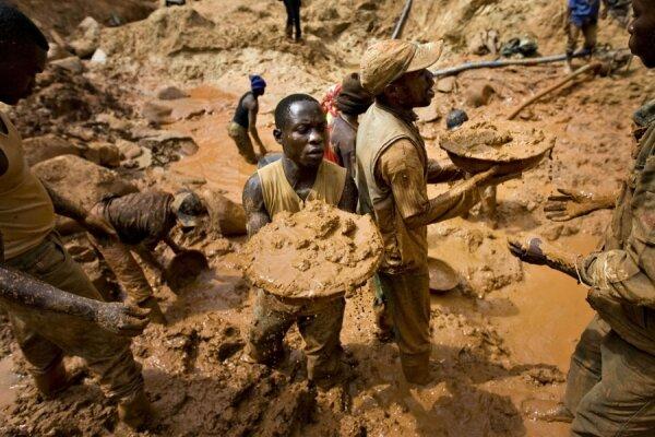 رانش زمین در یک معدن طلا در کنگو/ ۱۶ تن کشته شدند