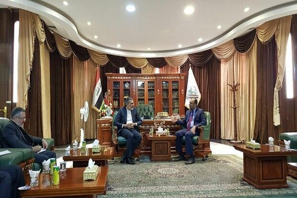 Iran's deputy FM meets with Najaf governor