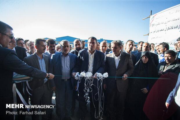 سفر رضا رحمانی وزیر صنعت، معدن و تجارت به قزوین