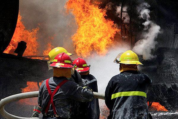 حریق در پارکینگ منزل مسکونی در قزوین ۳ مصدوم بر جا گذاشت