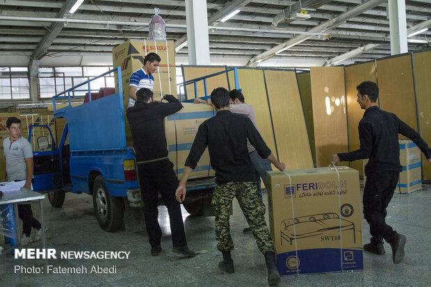 ۲۰۰ سری جهیزیه به زوج های جوان استان همدان اهدا شد