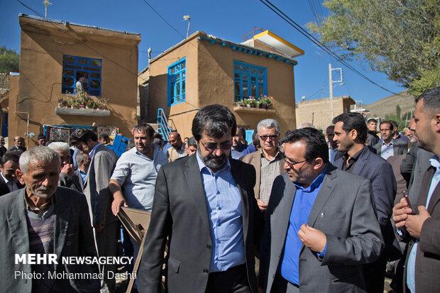ایران کے ضلع نمین میں ہاؤسنگ پراجکٹ کا افتتاح