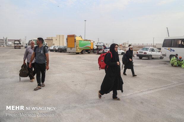 ۴۰۰۰ راهنمای زائر در طول مسیر از مرز تا نجف و کربلا حضور دارند