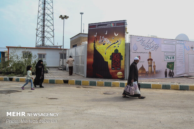 Chazabeh border, 15 days left to Arba'een mourning ceremonies