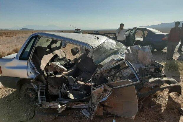 تصادف در محور ایلام-مهران ۳ کشته و ۲ زخمی برجا گذاشت