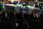 پیکر شهید محمود توکلی در اصفهان تشییع شد