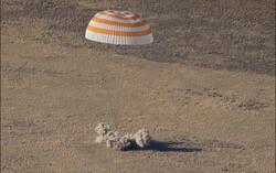 ۳ فضانورد ایستگاه فضایی بین المللی به زمین بازگشتند