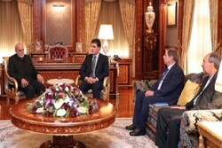 Iran's ambassador to Iraq meets with KRG president in Erbil