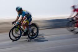 İran-Azerbaycan Bisiklet Turu'nun üçüncü etabından kareler