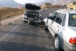 حوادث جاده ای استان همدان ۱۵۰ مصدوم برجای گذاشته است