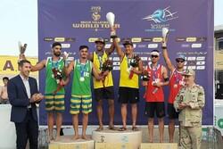 تایلند قهرمان تور جهانی والیبال ساحلی بندرترکمن شد