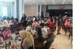 مسابقات شطرنج قهرمانی رده های سنی دختران کشور در قزوین پایان یافت