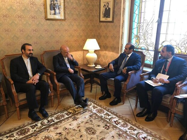 Iran's oil minister holds bilateral meetings with Armenian, Qatari counterparts