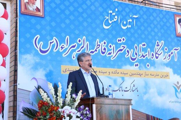 آموزشگاه ابتدایی حضرت فاطمه زهرا(س) در چالدران افتتاح شد