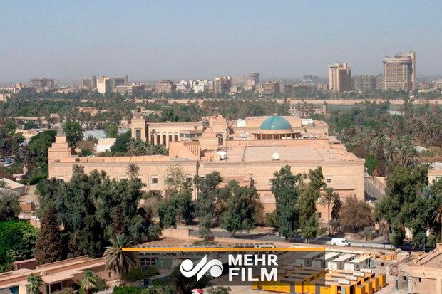 بغداد میں امن و سکون
