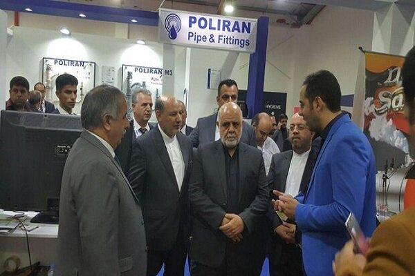 Iran's envoy to Iraq visits 13th Erbil Intl. Fair 2019