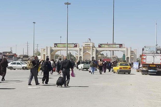 71,000 Arbaeen pilgrims cross Mehran border