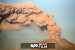 فیلمی از فوران آتشفشان پوپوکاتپتل در مکزیک