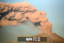 VIDEO: Mexico's Popocatépetl volcano erupts