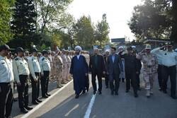 صبحگاه مشترک نیروهای مسلح شهرستان مرزی آستارا برگزار شد