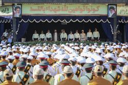 مراسم مشتركة للقوات المسلحة الإيرانية /صور