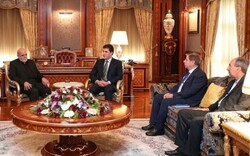 Ambassador meets Nechirvan Barzani in Erbil