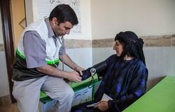 ارائه بیش از ۱۸۰۰ خدمت درمانی به مردم مناطق محروم کرمانشاه