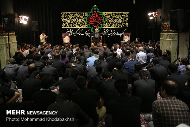 Mourning ceremony of martyrdom anniversary of Hazrat Ruqayyah (SA)