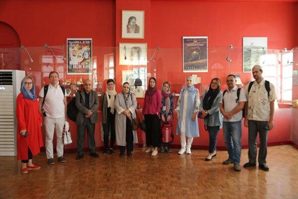 بازدید استادان روس شرق شناس از موزه سینما