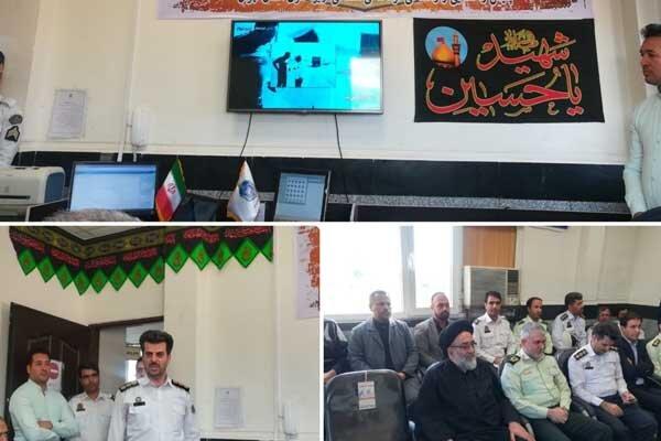 رونمایی از سامانه ثبت تخلفات هوشمند در پلیس راهور شرق استان تهران