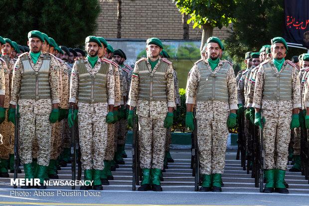 صبحگاه مشترک پلیس استان اصفهان به مناسبت هفته ناجا
