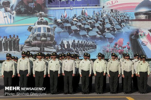 مراسم مشتركة للقوات المسلحة الإيرانية