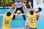 منتخب إيران يتعثر أمام البرازيل في بطولة كأس العالم لكرة الطائرة
