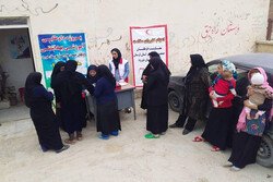 اعزام کاروان سلامت به مناطق سیلزده و محروم شهرستان دورود