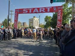مرحله نهایی تور دوچرخه سواری آذربایجان در اردبیل آغاز شد