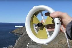 توربین آبی و بادی موبایل را شارژ می کند