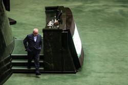الاجتماع العلني للبرلمان الايراني بحضور ظريف / صور