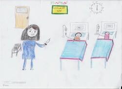 نقاشیهای کودکان بیمار جهانی میشوند