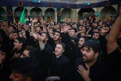 قم میں حضرت امام حسن مجتبی (ع) کی شہادت کی مناسبت سے عزاداری