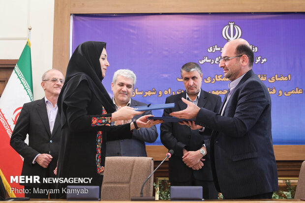 Roads Ministry, Vice-Presidency for Science, Technology ink MoU for enhancing activities