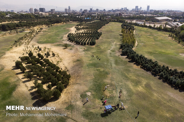 National golf competitions in Tehran