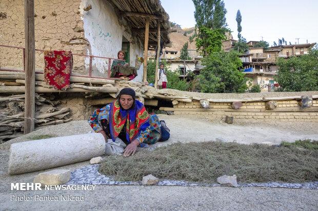 Rural life in Sar Aqa Seyyed village