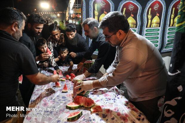 Ahvaz kenti Erbain merasimine hazırlanıyor